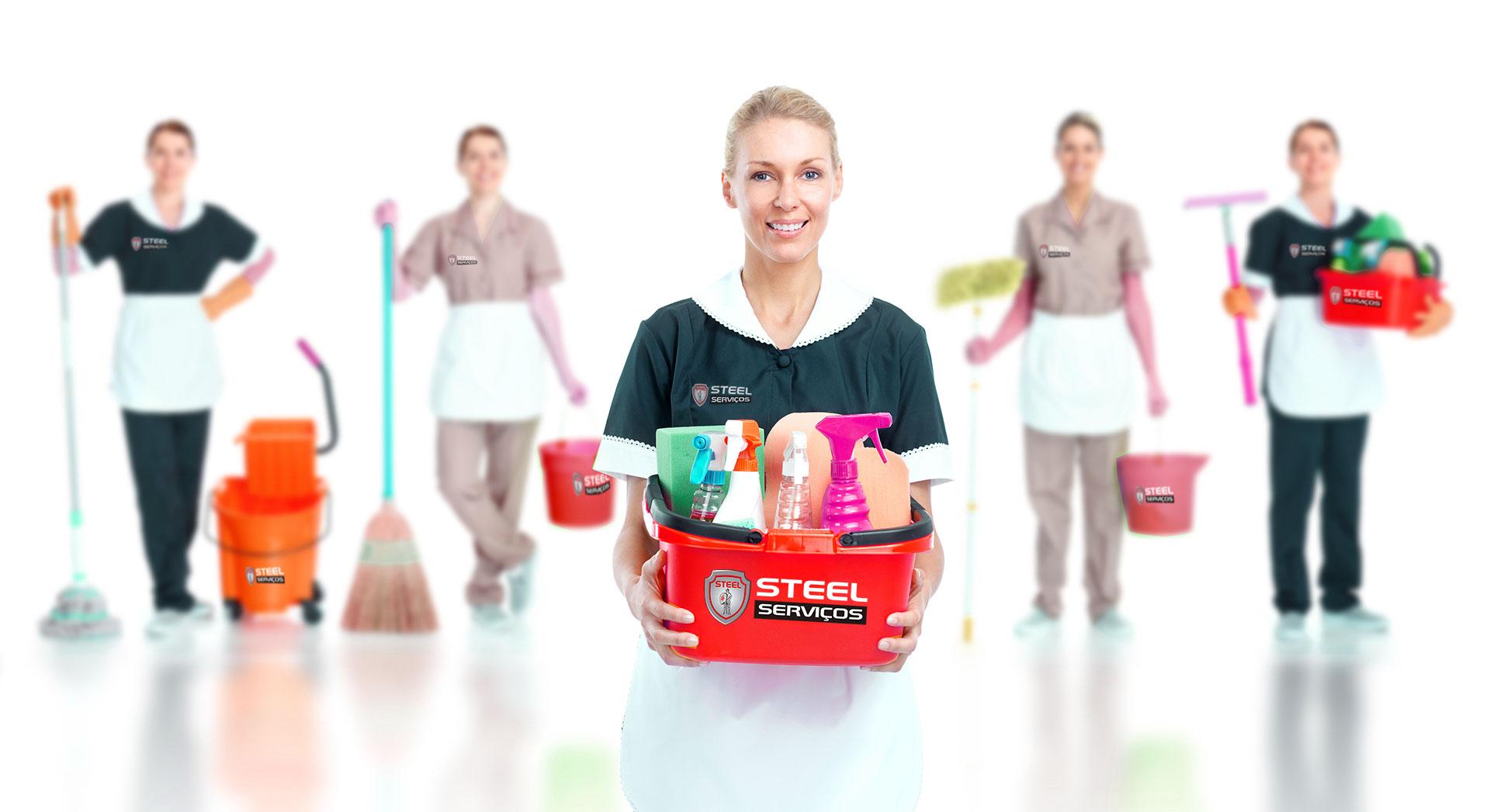Incluindo material de limpeza, exceto descartáveis